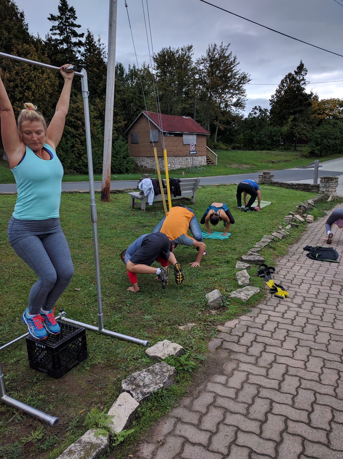 workout tobermory