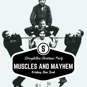 Christmas Party: Muscles and Mayhem