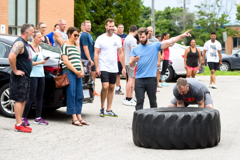 StrengthBox Challenge Cops & Kids